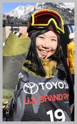 JKスノーボーダーの岩渕麗楽!平昌オリンピックで最年少金メダルか!