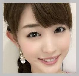 グッドモーニングの新井恵理那の目がカワイイ!カップがわかる画像