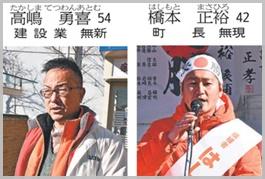 キラキラネームで町長選挙に立候補!?高嶋勇喜(てつわんあとむ)
